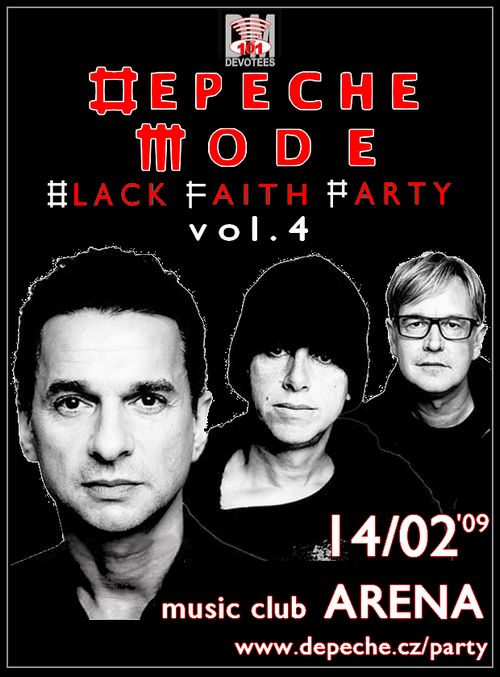 Depeche Mode videoparty. 14.02., klub Arena (Praha) Arena4