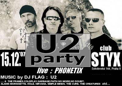 U2 PARTY 15.12.2007
